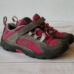 Keen Gray Suede Pink Mesh Outdoor Sneakers 13